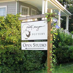 Marty Morgan Studio sign
